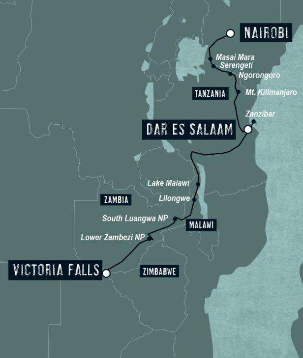 Drago Map